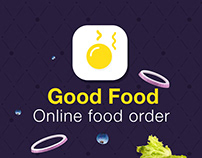 Good Food, App UI design