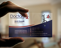 Corporate  Business Card For Doctor
