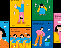 Autism Awareness Poster Series