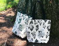 NYBG Floral Totes!