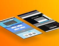 Textile Company Website