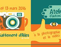 Atelier photo & vidéo | Flyer