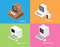 40th Anniversary Apple computer Vintage1