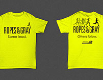 Ropes & Gray - JP Morgan Corporate event t-shirts