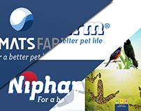 Niamats Farm Branding