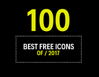 100+ Best Free Icons of 2017