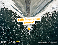 Rettungsboot Coworking Space Klagenfurt