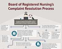 Nursing License Defense Process Infographic