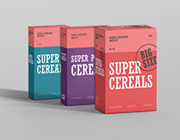 Cereals Box Mockup Bundle