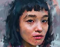 portrait study wip