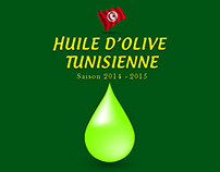 Huile d'olive Tunisienne - Infographie -