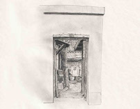 Inside a Beijing Door