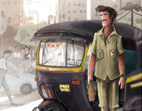 The Daily Rider_(Rickshaw Wala)