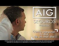 Comercial AIG - Cómo asegurar tu día de un mal día