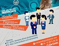 Flyer Promo Servicios - Arg