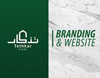 Tethkar Branding & Website
