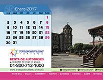 Transpais Turismo - Calendario 2017