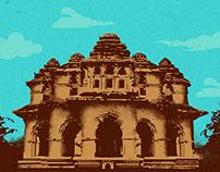 Lotus Mahal - Hampi