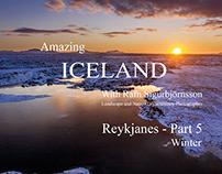 Amazing Iceland - Reykjanes Landscape Part 5 - Winter