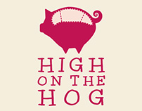High on the Hog - Logo