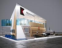 Kalashnikov Group booth concept