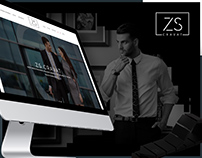 ZS CRAVAT - Web design