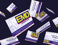 Business Cards - EMD Joinery Ltd