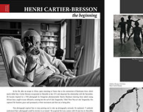 Henri Cartier-Bresson article