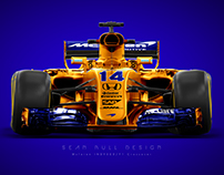 Mclaren Indy Livery on F1