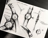 Watch sketching   21x29,7 cm