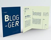 Tipografía Blogger - Typeface