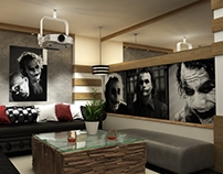 Interior Design of Joker club