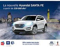 Hyundai SANTA FE - Print Ad Redesign