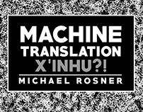 Machine Translation Poster