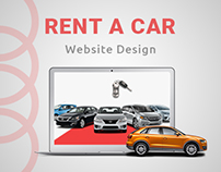 Rent A Car Company Web Design