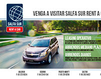 Campaña Rent a Car Salfa Sur - Marketing Digital