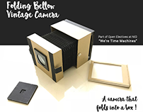 Vintage Folding Camera | Open Elective at NID