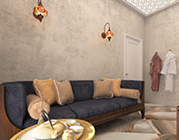Interior design - Lounge hamam | L'viv
