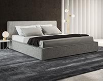 Alberta Laguna Bed - 3D model