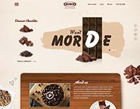 Morde Website Design