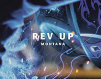 RevUp Montana Brand Identity