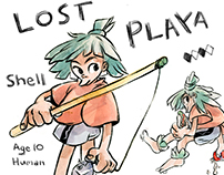 'Lost Playa' Character Development: Shell