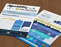 Arlington County Affordable Housing Study factsheets