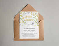 Bridal & Baby Shower Invitations