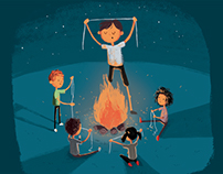 Volunteers - illustration project
