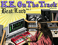 Beat Lord Mixtape Cover Art