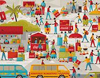 Resource Marketing Illustration