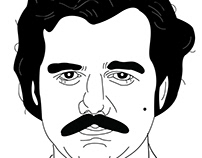 Pablo Escobar | NARCOS | Illustration