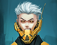 Cyborg Blade