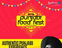 Punjabi Food Fest poster